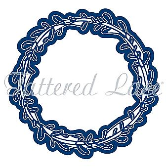 Tattered Lace Engaging Elements Circle Frame Die
