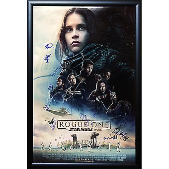 Rogue One: A Star Wars Story - Signed Movie Poster