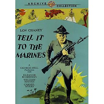 Tell It to the Marines (1926) [DVD] USA import