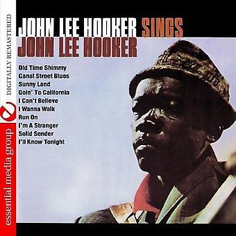 John Hooker Lee - Sings John Lee Hooker [CD] USA import