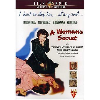 Kvinnens hemmelig (1949) [DVD] USA importere