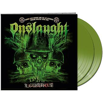 Onslaught - Live at the Slaughterhouse (Green Vinyl) [Vinyl] USA import