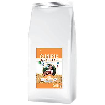 Cunipic 20 Kg chicken feed. (Birds , Bird Food , Others)