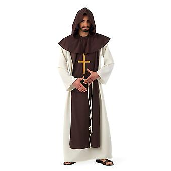 Monk Father Abbot cowl mens priest costume