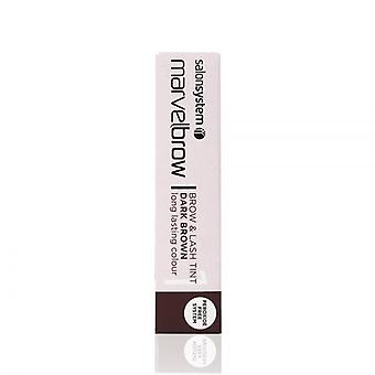 Salon System Marvelbrow Lash Tint Dark - Brown