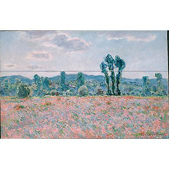 Claude Monet - Descriptie (1886) Poster Print Giclee