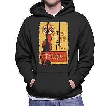 Les Furets de Feu Legend Of Korra Men's Hooded Sweatshirt