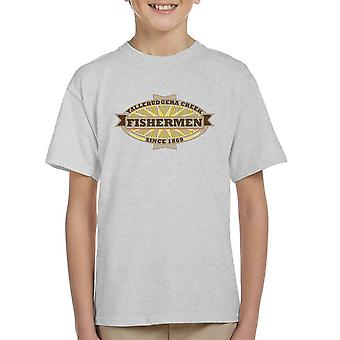 Tallebudgera Creek Fishermen 1869 Kid's T-Shirt
