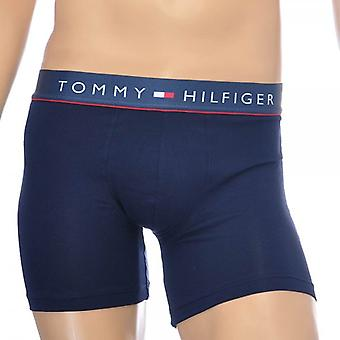 Tommy Hilfiger Cotton Flex Boxer Brief, Navy, Medium