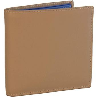 40 Colori Leather Wallet - Beige/Royal