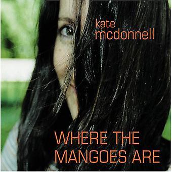 Kate McDonnell - hvor the mango er [CD] USA import