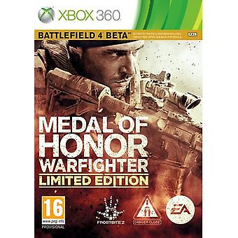 Medal of Honor Limited Edition (Xbox 360) for the Warfighter (used)