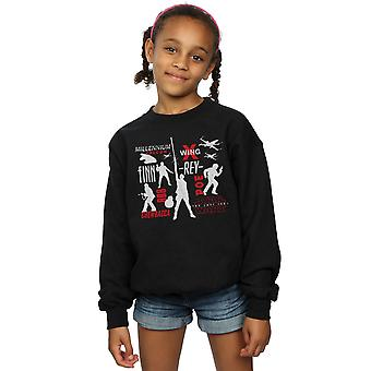 Star Wars Girls The Last Jedi Rebellion Silhouettes Sweatshirt