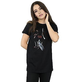 Nightmare On Elm Street Women's Freddy Vs Jason Boyfriend Fit T-Shirt