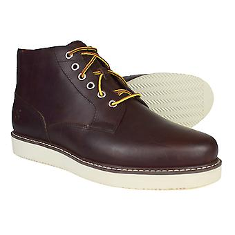 Timberland Wedge Chukka Brown Leather Boots 23196