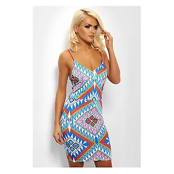 The Fashion Bible Tula Aztec Midi Dress