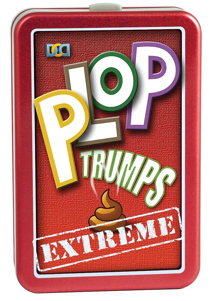 Plop Trumps Extreme Card Game