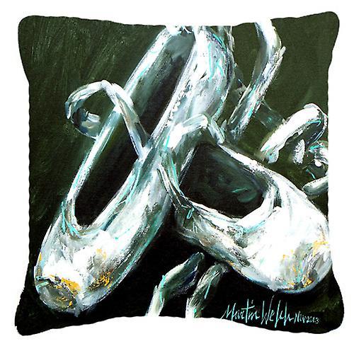 Ballet doré orteils toile tissu oreiller décoratif