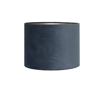 Light & Living Shade Cylinder 30-30-21 Cm VELOURS Dusty Blue