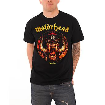 Motorhead T Shirt Sacrifice Warpig band logo Official Mens Black