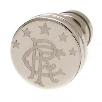 Rangers rustfritt stål Stud øreringer
