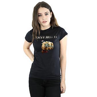Disturbed Women's Fist Logo T-Shirt