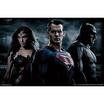 Batman vs Superman - Trio Poster Poster Print