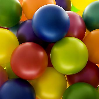 Belbal 10.5 Inch Pastel Balloons (Pack Of 100)