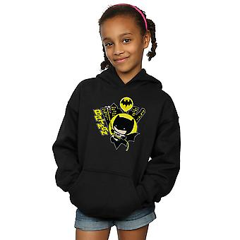 DC Comics Girls Chibi Batman Swinging Hoodie