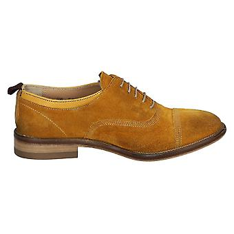 Smith's American women's WODRESS2SUEOCH Braun suede lace-up shoes