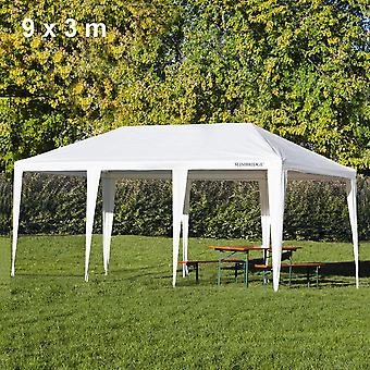Slimbridge Fontwell 9 x 3 meter gazebo, wit