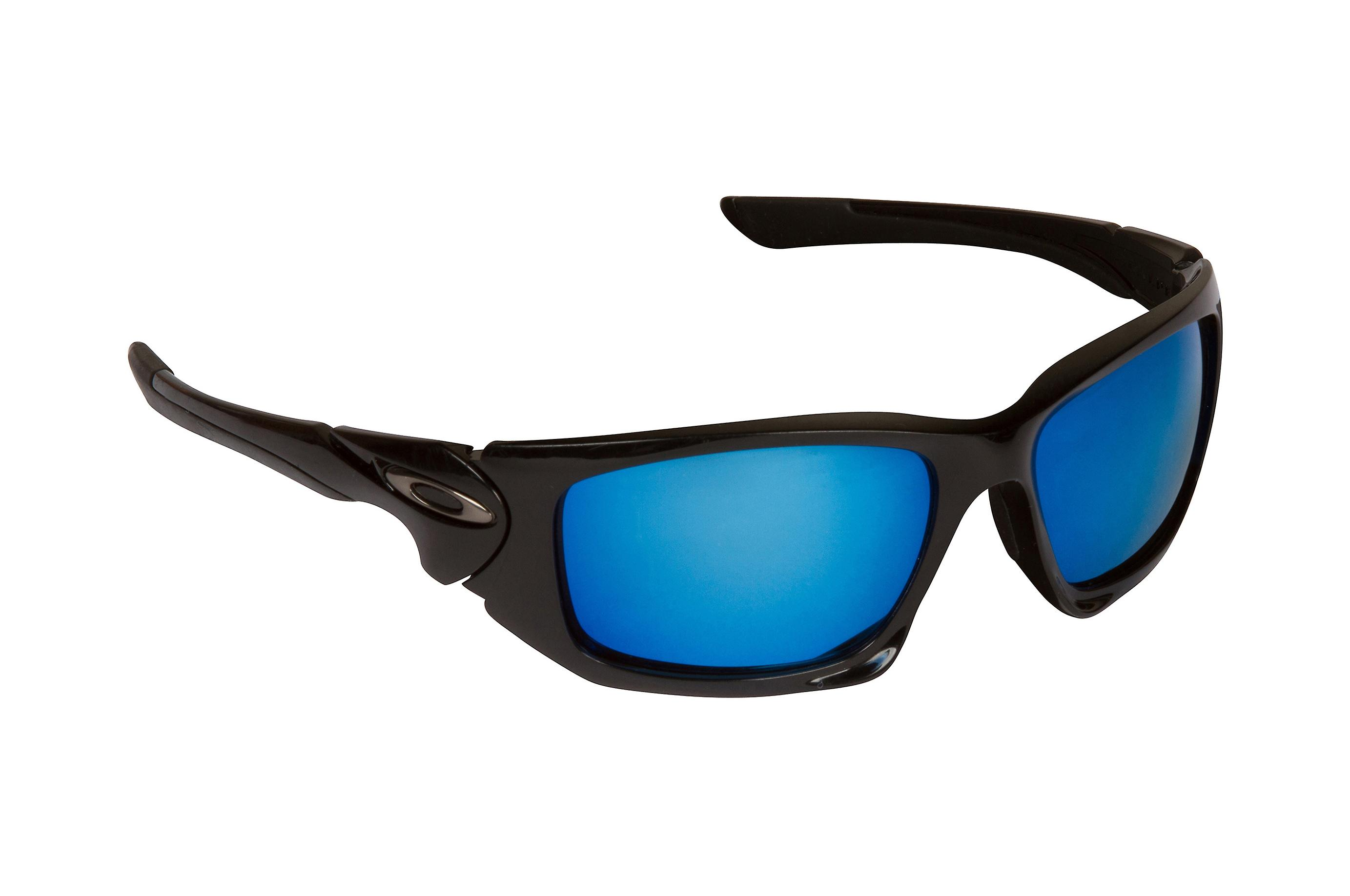 Scalpel Replacement Lenses Polarized Blue Mirror by SEEK fits OAKLEY Sunglasses