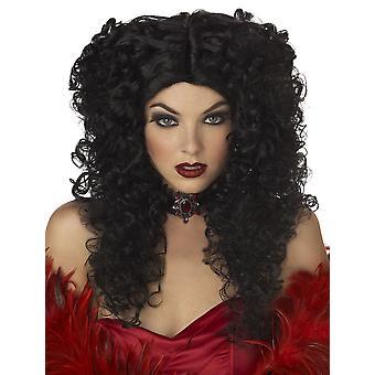 Madame makabra vampyr Vampiress kostym kvinnor peruk