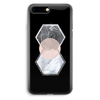 أي فون 7 بالإضافة إلى حالة شفافة (الناعمة)--لمسة إبداعية