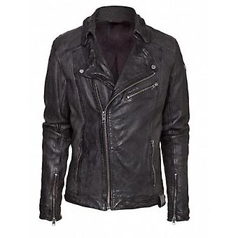 Lucas Mens Leather Jacket Lambskin