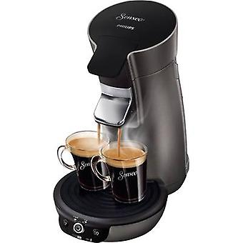 SENSEO® Viva Café Style HD7833/50 Pod coffee machine Titanium-black Height adjustable nozzle