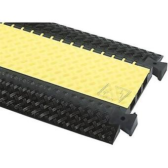 (L x W x H) 1000 x 600 x 73 mm Black, Yellow Adam Hall Content: 1 pc(s)
