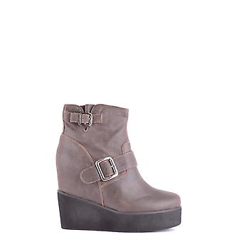 Jeffrey Campbell women's MCBI163027O grey Suede Ankle Boots