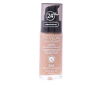 Revlon Colorstay Combination Oily Skin 350 Rich Tan 30ml Womens New