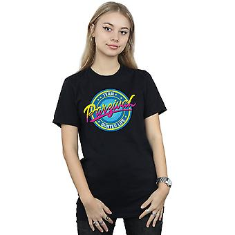 Ready Player One Women's Team Parzival Boyfriend Fit T-Shirt