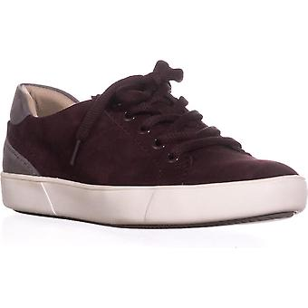 naturalizer Morrison Low Rise Fashion Sneakers, Bordo Suede, 7 WW US