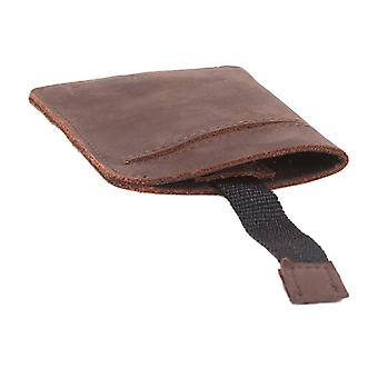 Dickies Larwill Leather Card Holder - Brown