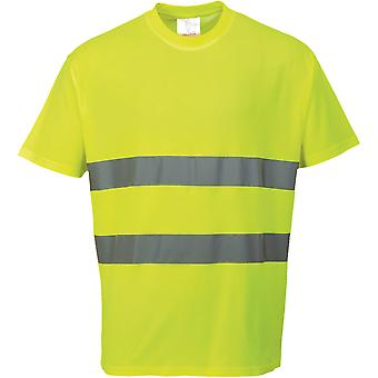 Portwest Mens komfort pustende T skjorte