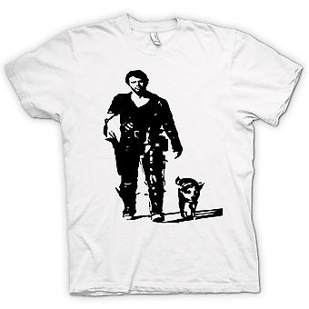 T-shirt Mens - Mad Max - BW - culto