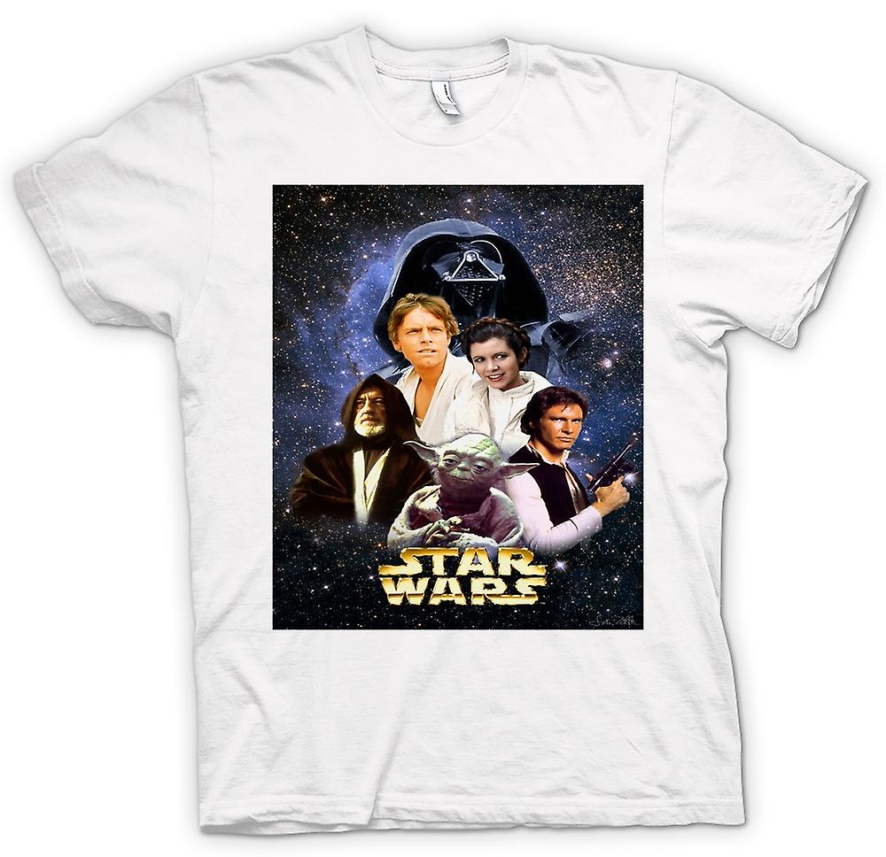 Mens T-shirt-Star Wars - Film - Poster