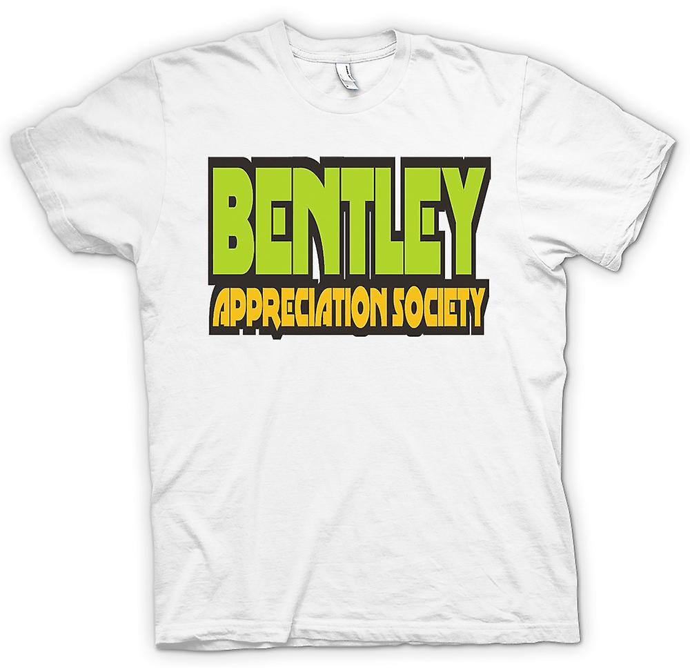 Mens T-shirt - Bentley Appreciation Society