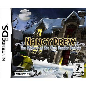 Nancy Drew - Mystery of the Clue Bender Society (Nintendo DS)