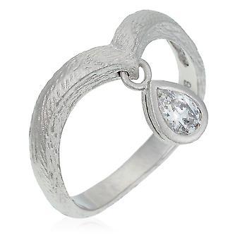 Orphelia plata 925 anillo circonio ZR-3930