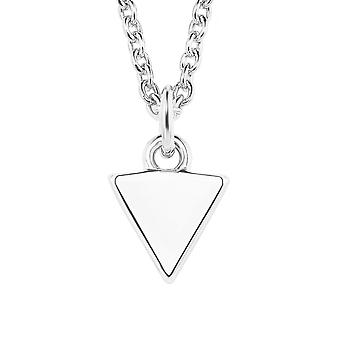 s.Oliver Jewel Damen Kette Silber SO PURE Dreieck 2021826