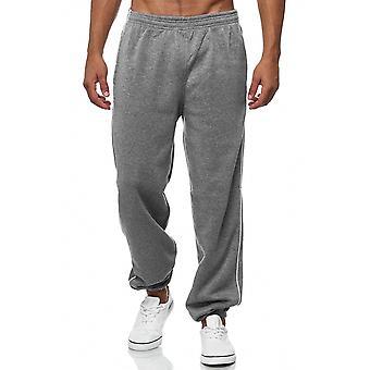 Entrenamiento de deportes ocio gimnasio pantalones sweatpants tira del sudor de hombres